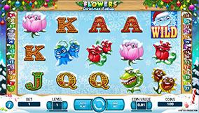 Flowers Christmas Edition Free Play Slot